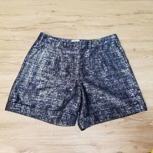 🌴 Anthro Coquille High Rise Shimmer Street Shorts